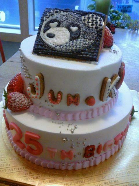 foto kue ulang tahun jun k yang ke 25 tahun keziakarina